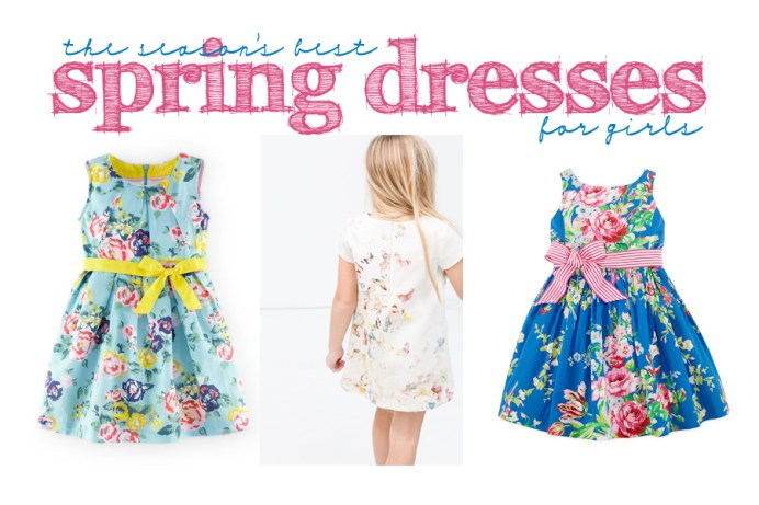 easter and spring dresses for girls