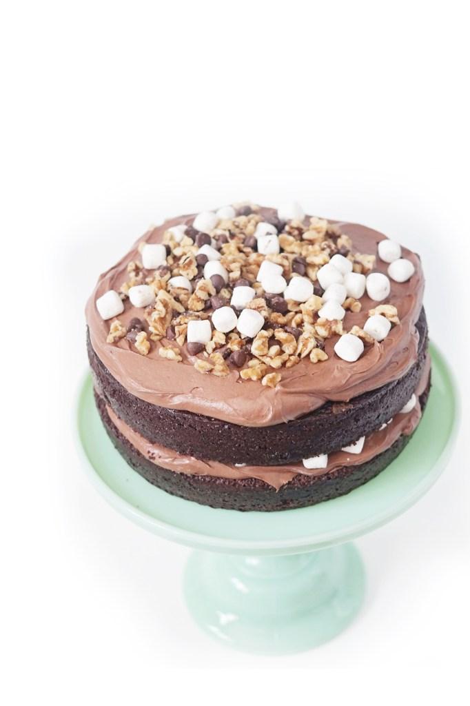 rocky road cake 2