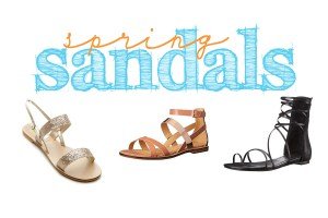 My Favorite Spring Sandals