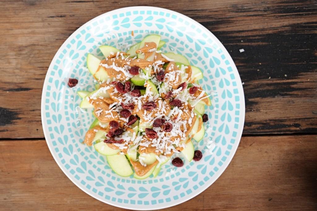 healthy after school snacks ideas for kids Pink Peppermint Design Apple Nachos