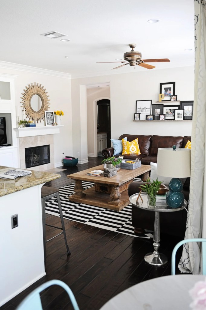 family room remodel and makeover