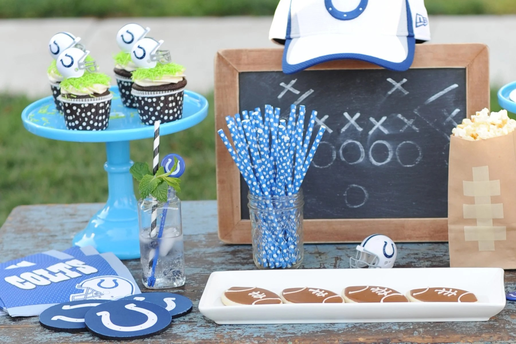 Tailgate Football Party by Tammy Mitchell