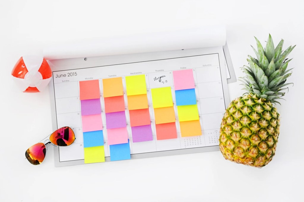 summer activities ideas Pink Peppermint Design