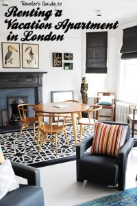 One Fine Stay : What it's like to rent a vacation apartment in London