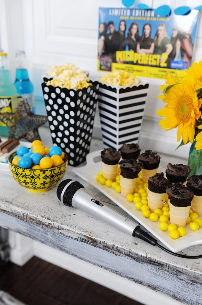 PItch perfect movie night party ideas