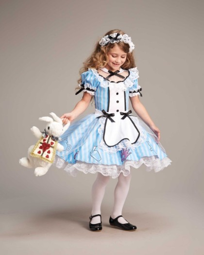 alice in wonderland chasing fireflies costume