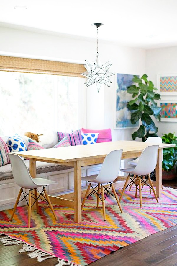 how to decorate with kilim rugs in the kitchen style files