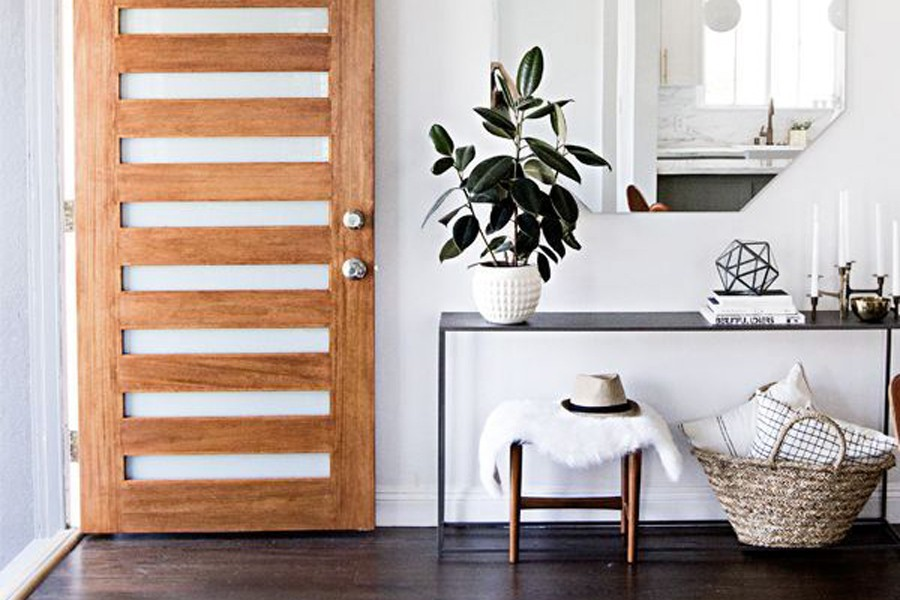 using baskets for storage in your home