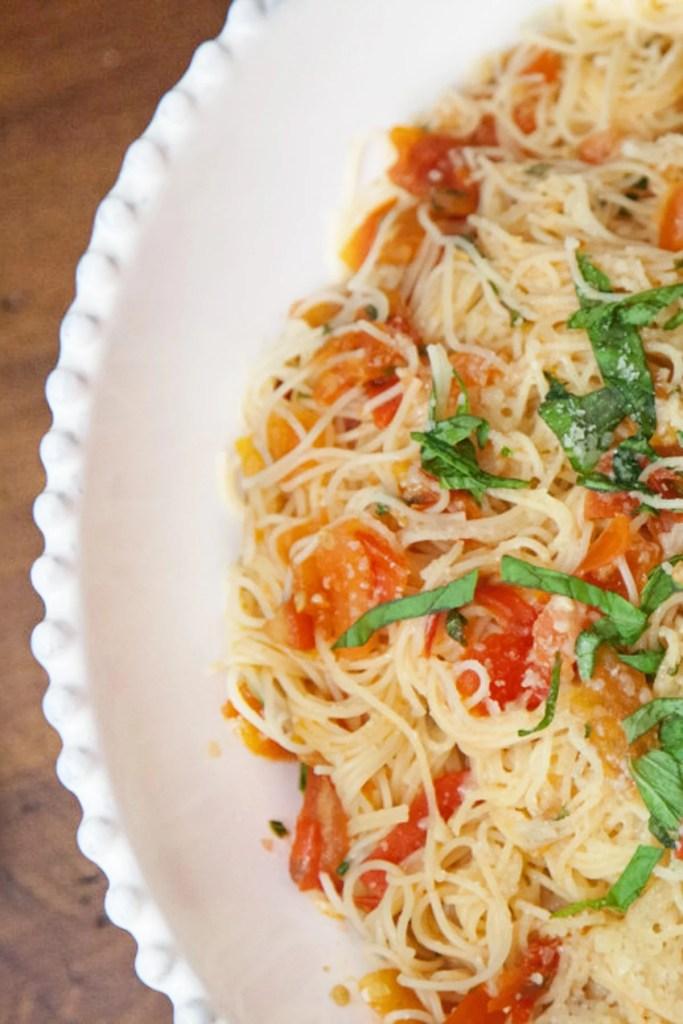 spaghetti margherita recipe