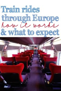 Train rides through europe 1