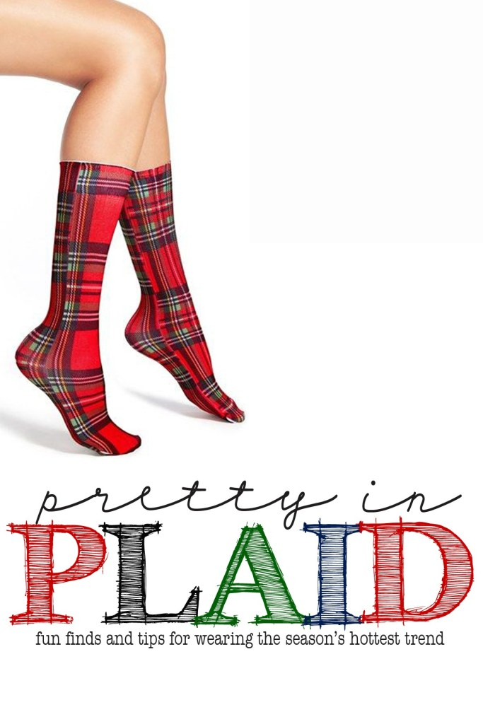 pretty in plaid cute plaid accessories