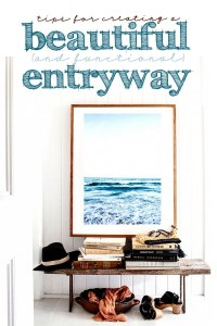 Tips for creating a beautiful and functional entryway copy