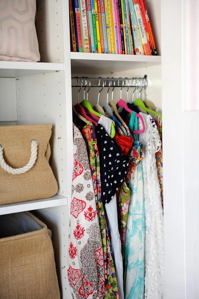 5 ways to organize your child's closet