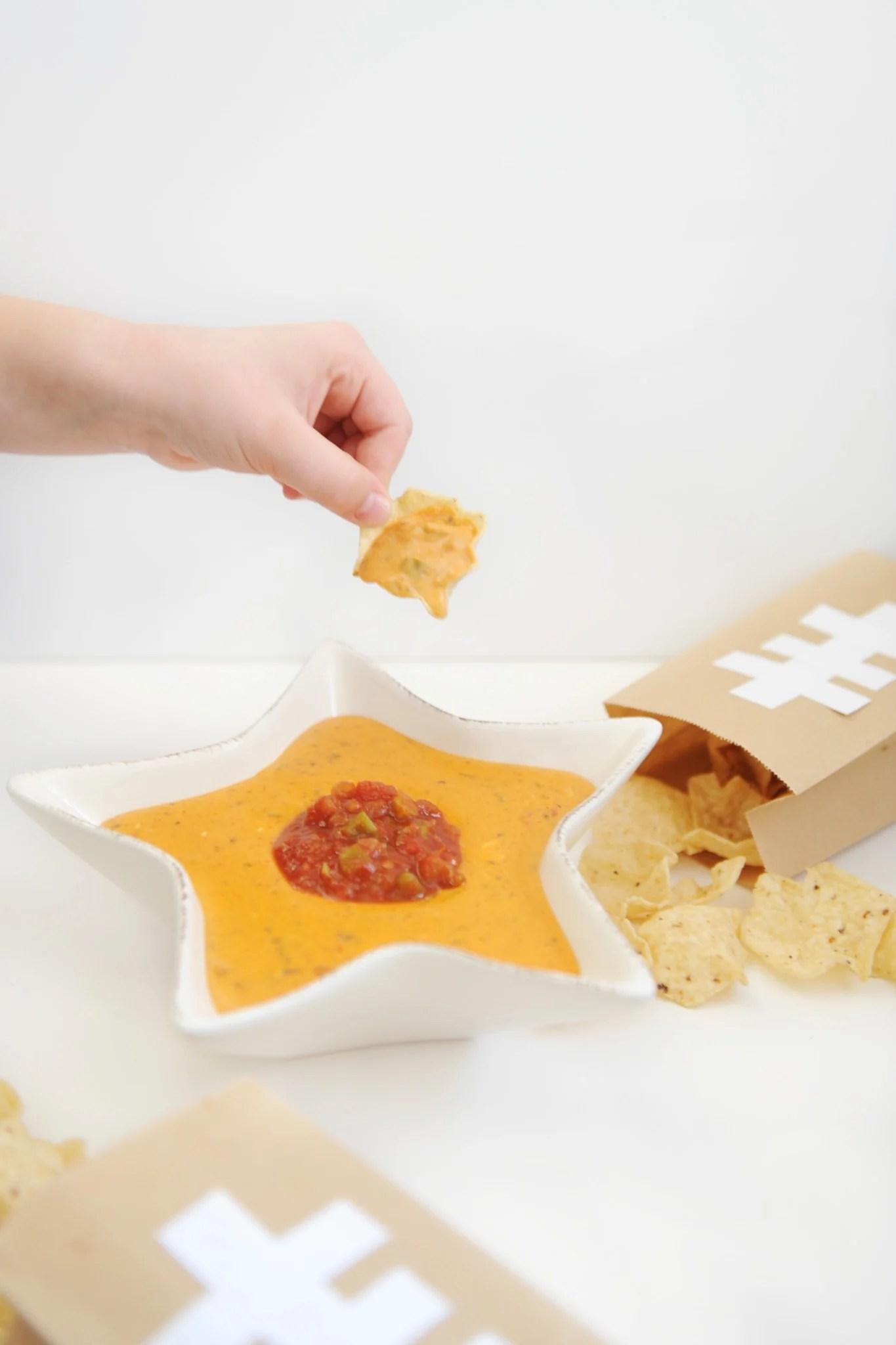 Irresistible Dip Recipe : Cheesy Chili Salsa Dip