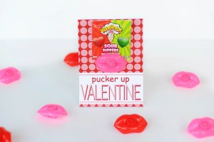 Pucker Up Valentine : Handmade Design Valentine Cards