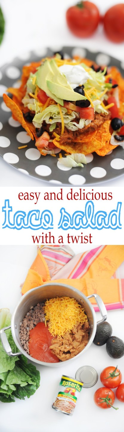 easy and delicious taco salad recipe