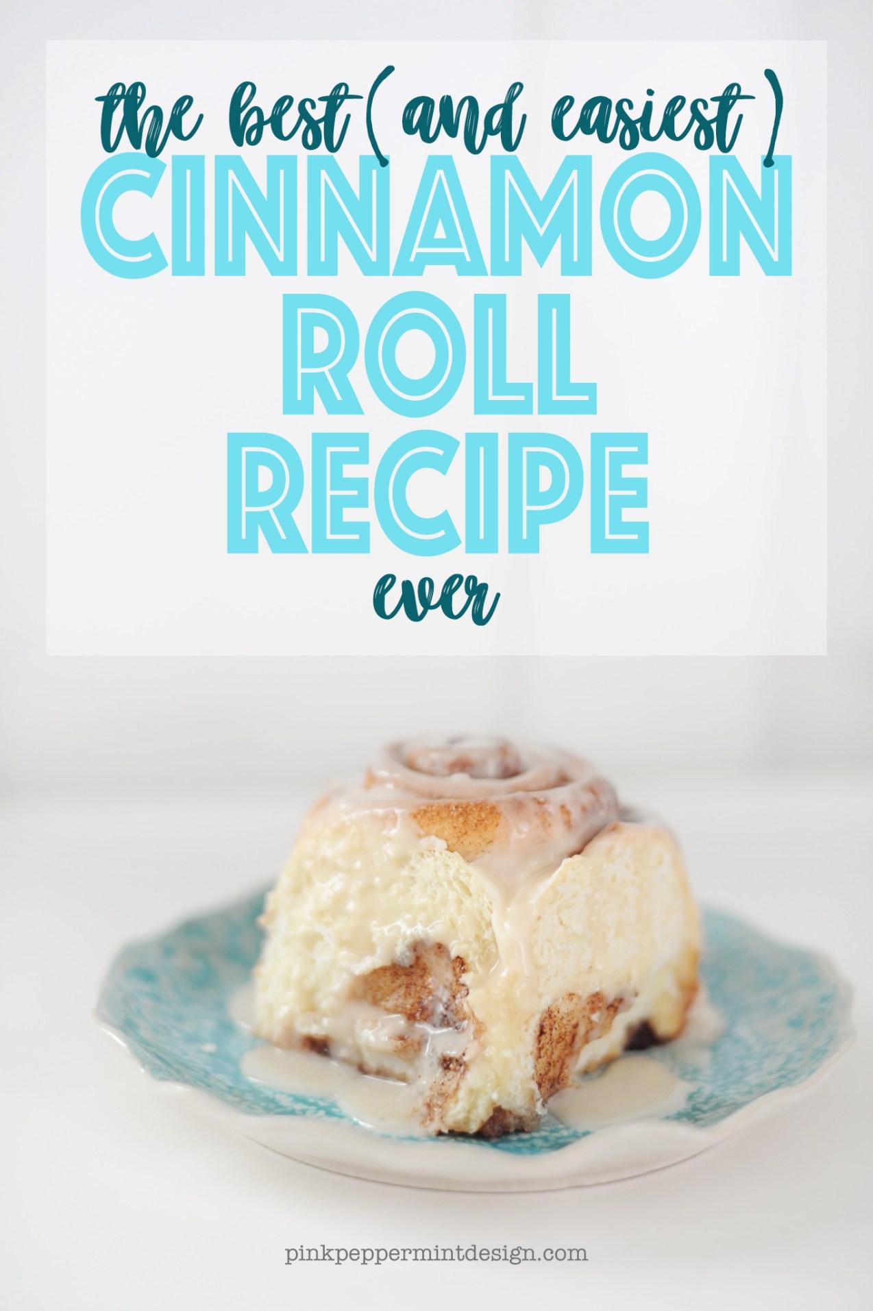 The best cinnamon roll recipe 1