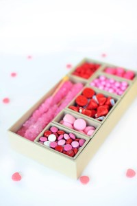 DIY Valentine candy box