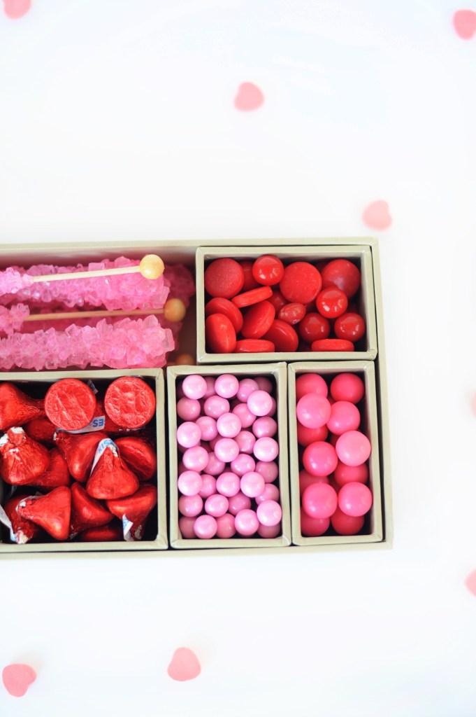 DIY Candy Valentine Gift Box