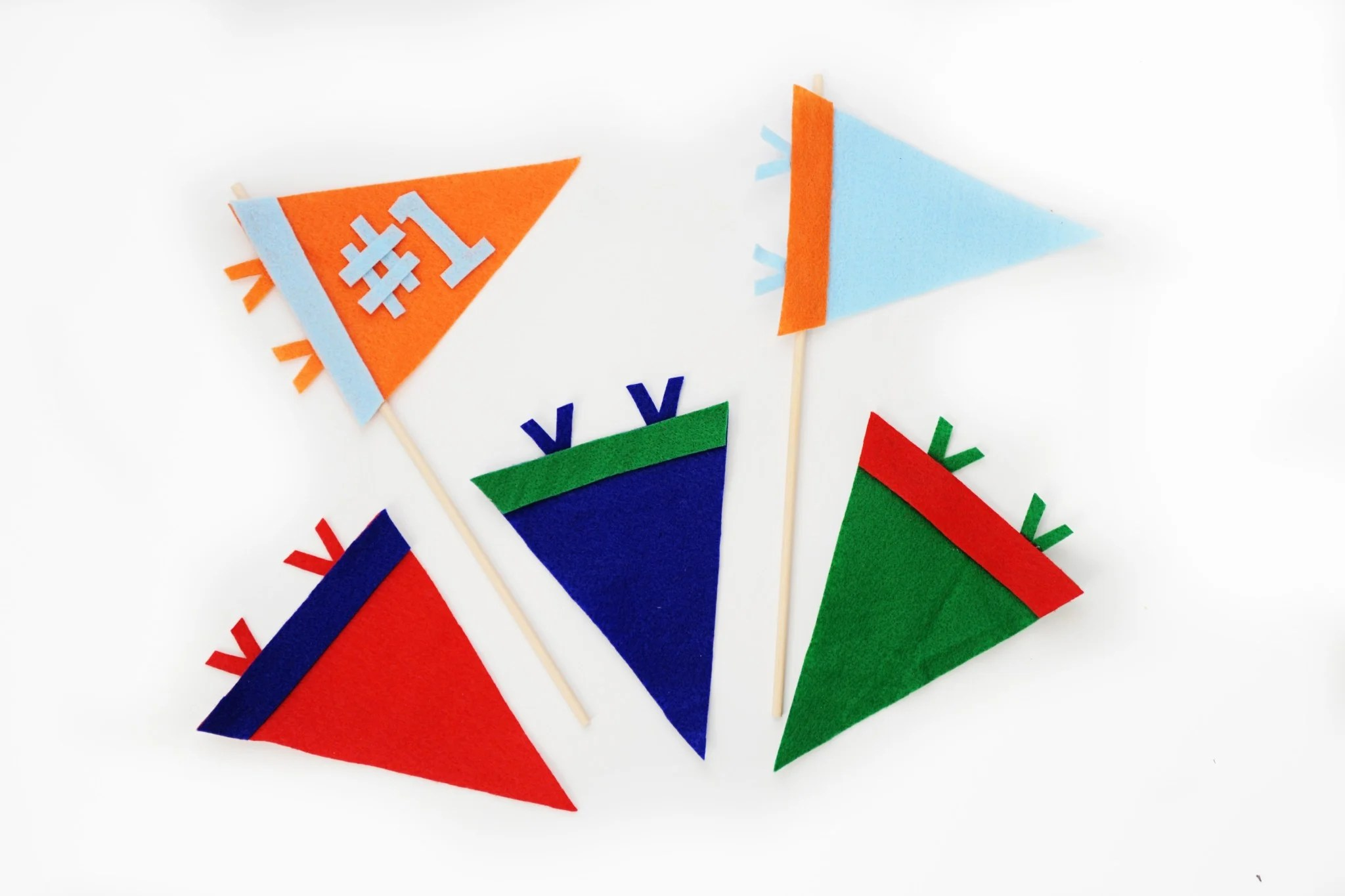 Sports Felt Pennant by Tammy Mitchell