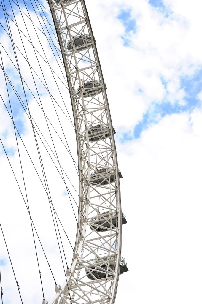 take a spin on the london eye