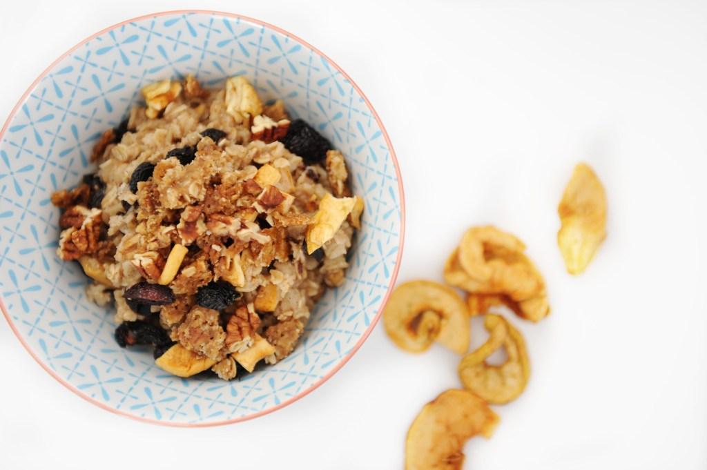 Cherry Apple Cobbler Oatmeal Recipe