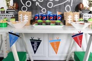 Super bowl party ideas header