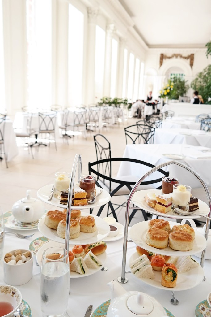 Afternoon Tea at the Orangery at Kensington Palace