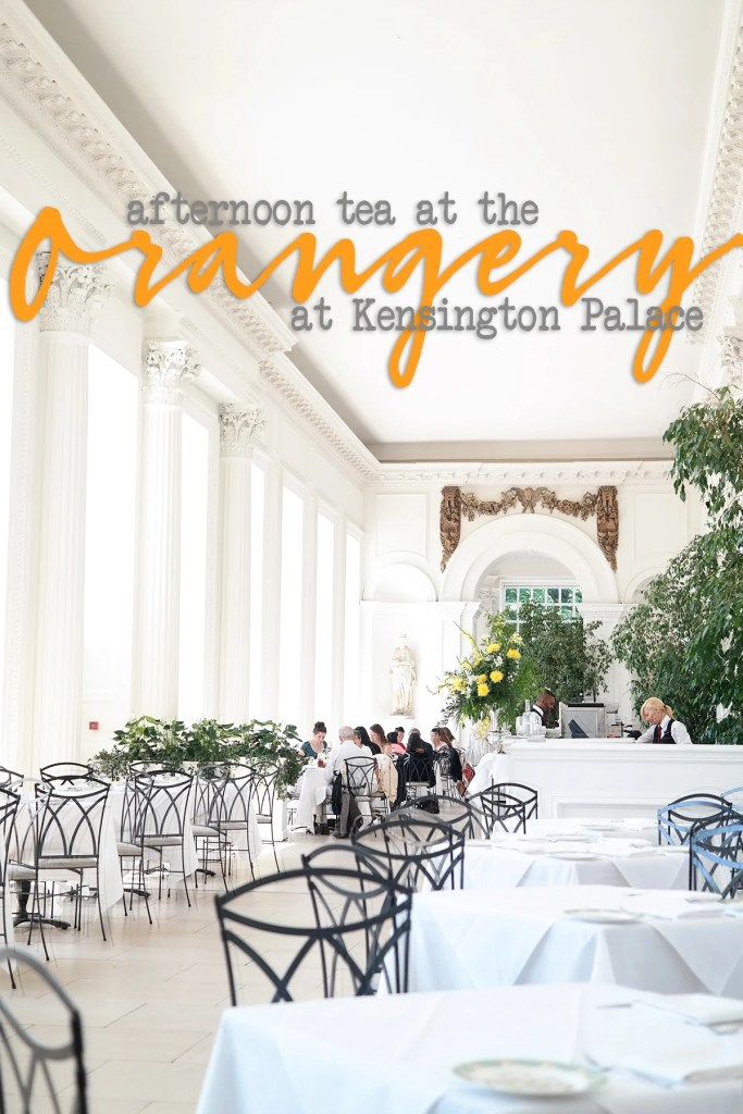 tea at the orangery in london