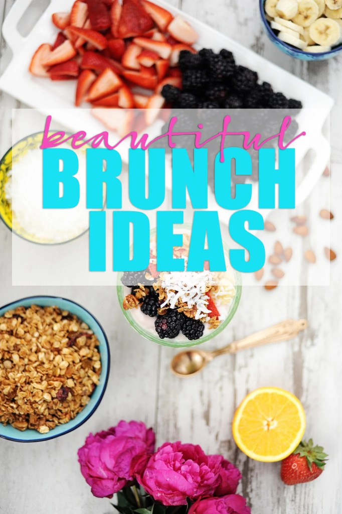 hosting a brunch party