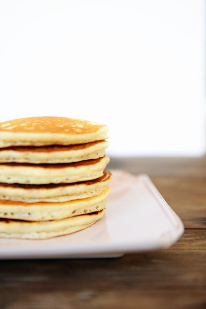 pancake recipe pancakes from scratch easy pancake recipe Pink Peppermint Design