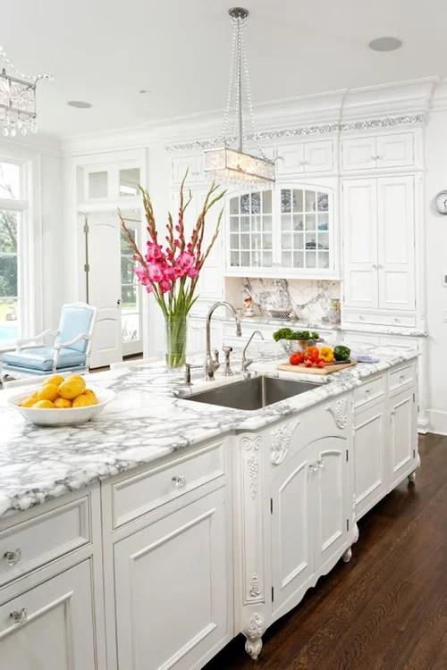 white kitchen design trend