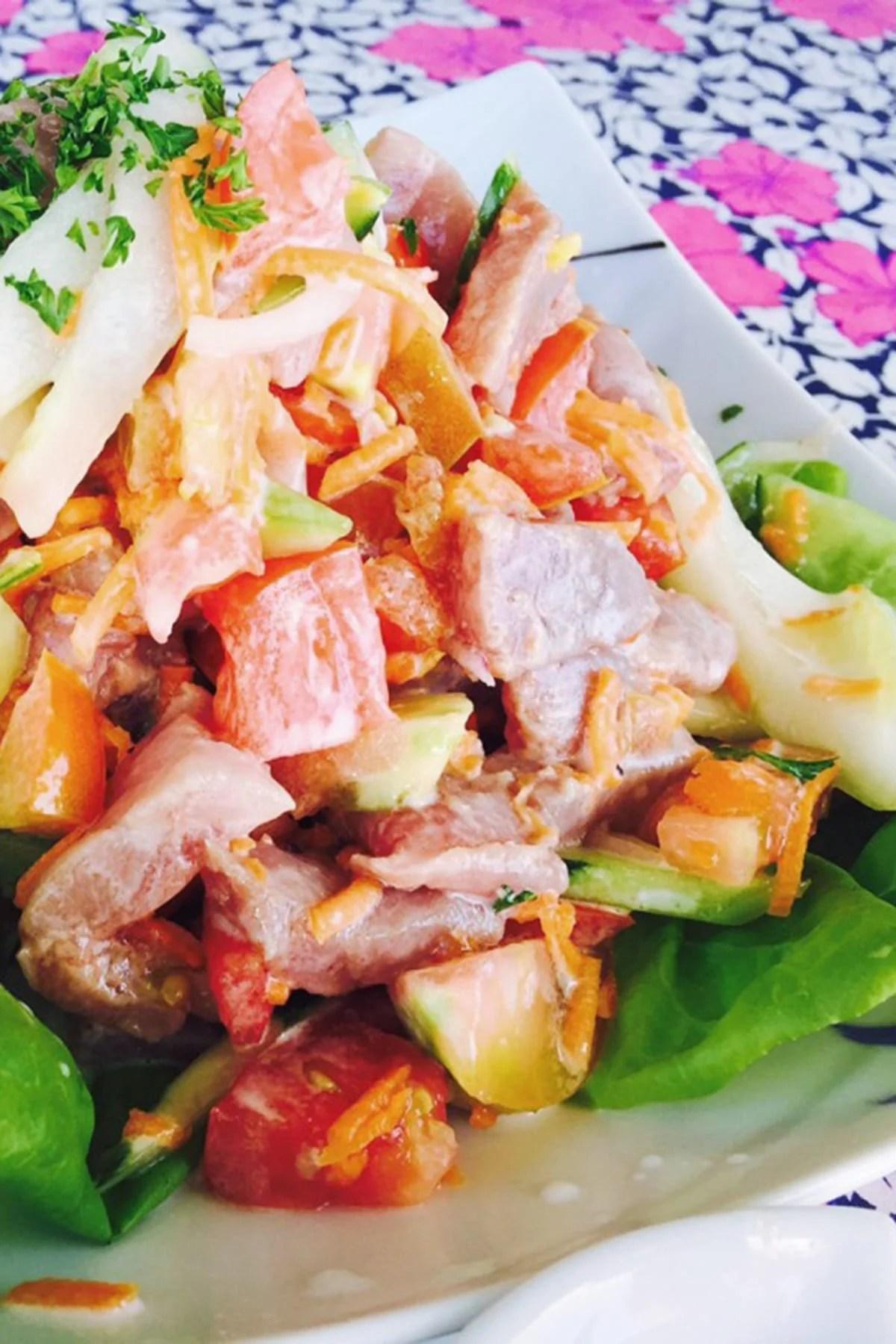 Poisson Cru Recipe- Tahitian Signature Dish