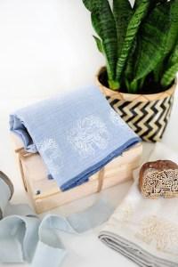 Stamped towels 2