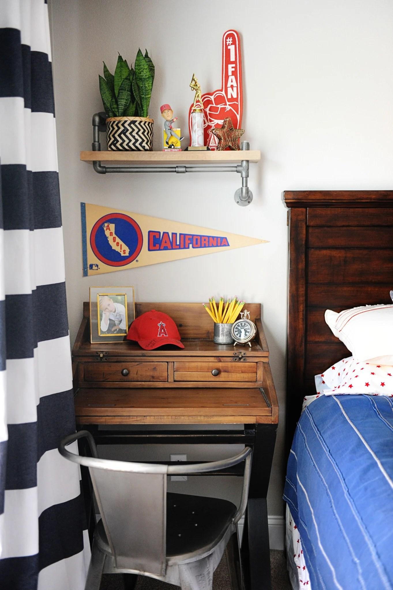 tween boy room makeover