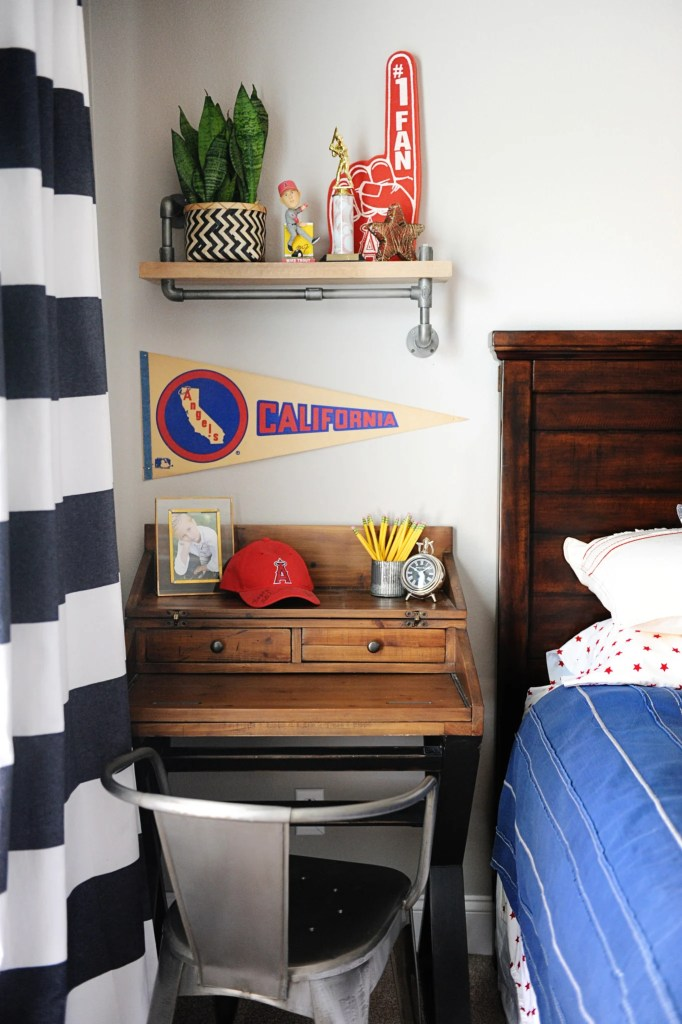 tween boy room makeover
