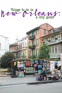 New orleans 14 city guide