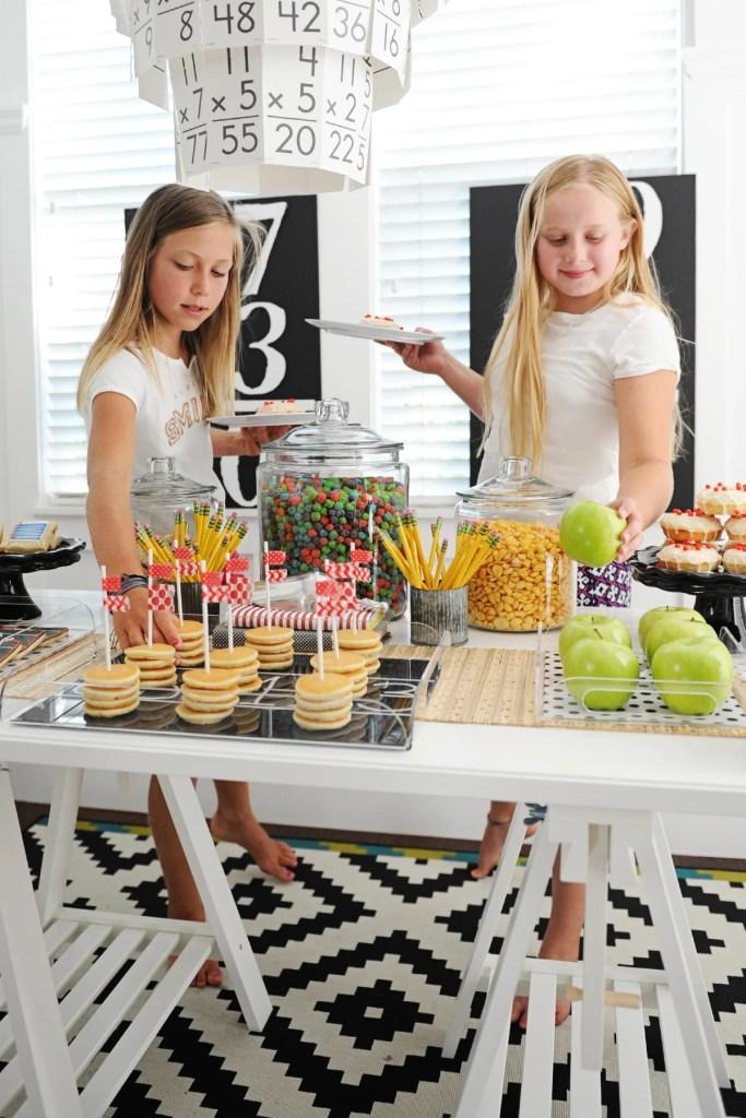 school birthday party ideas