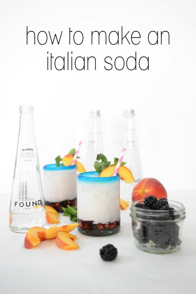 how to make an italian soda