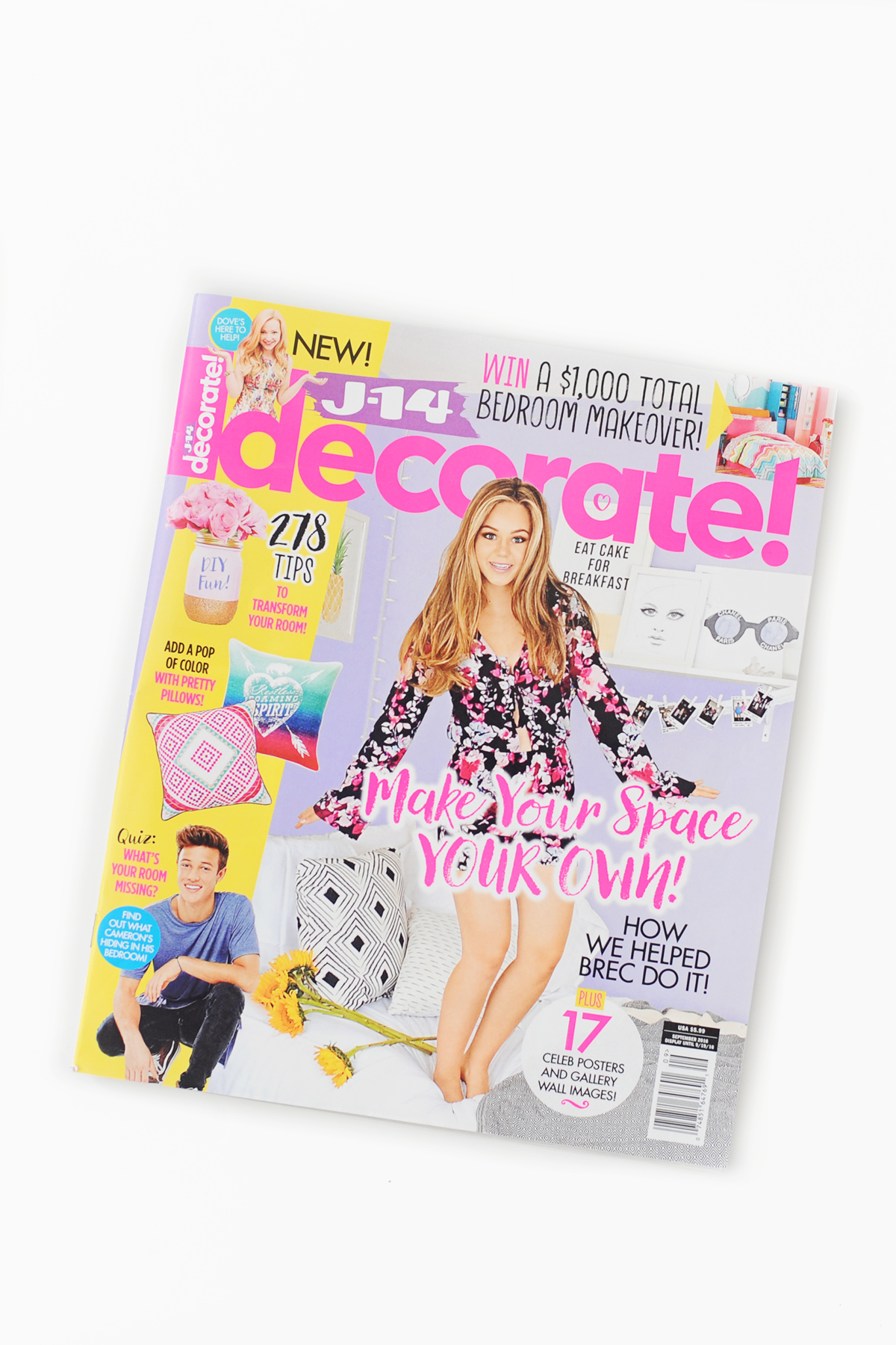 An exciting week at our house: J-14 Decorate Magazine Feature