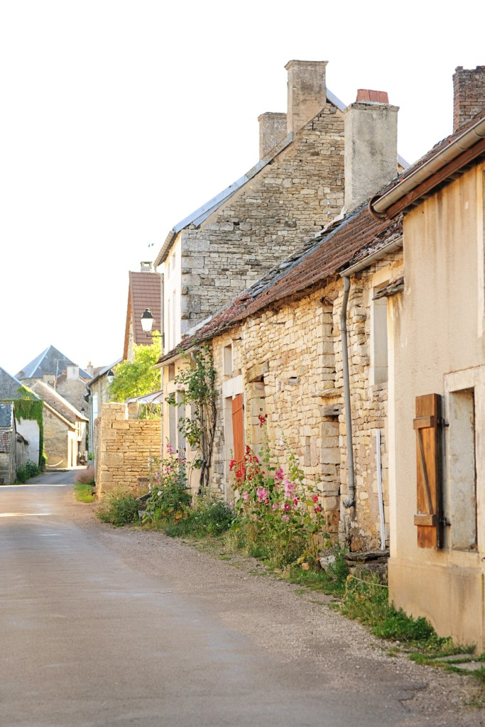 mont saint jean france medieval french hilltop village