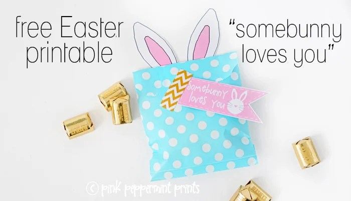 Egg Hunt Favor Printable by Tammy Mitchell