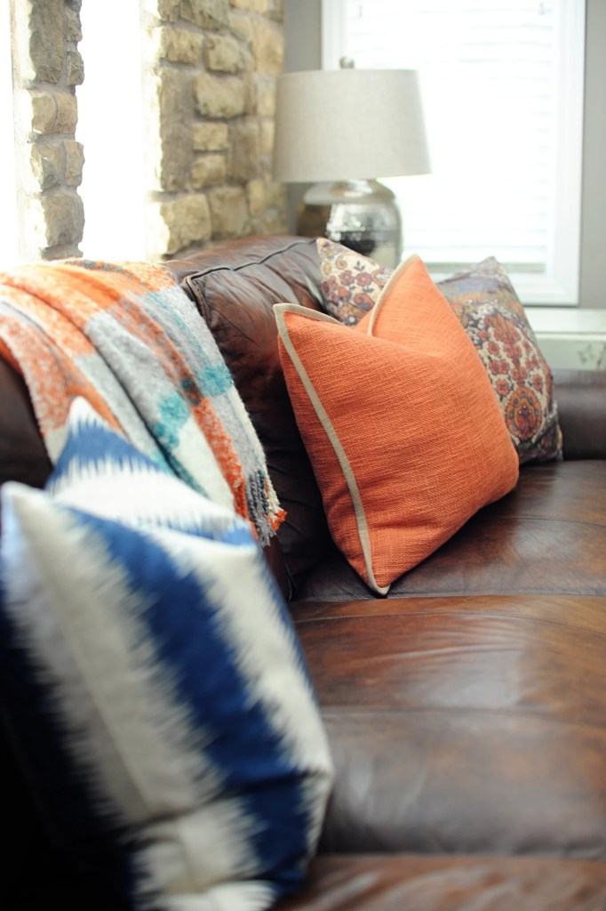 fall home tour pink peppermint design