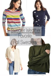 Favorite Fall Sweaters for Women