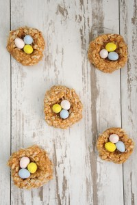 Easter nest cookies 1