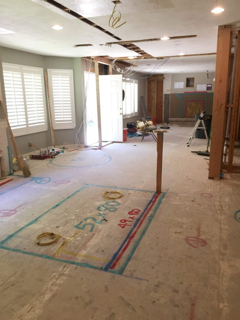 remodeling your home's floor plan