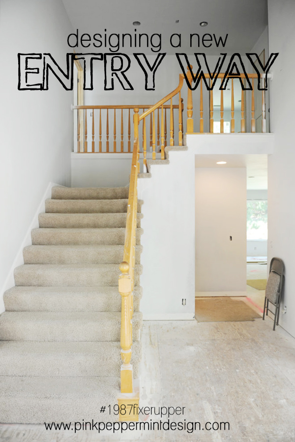 designing a new entry way