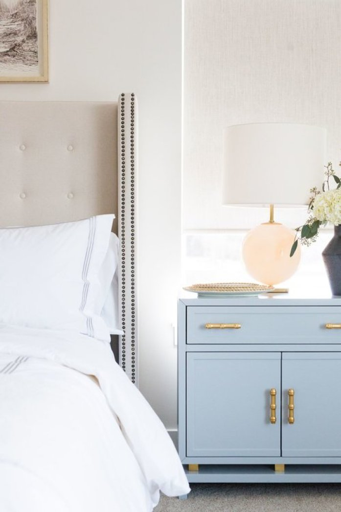 powder blue nightstands
