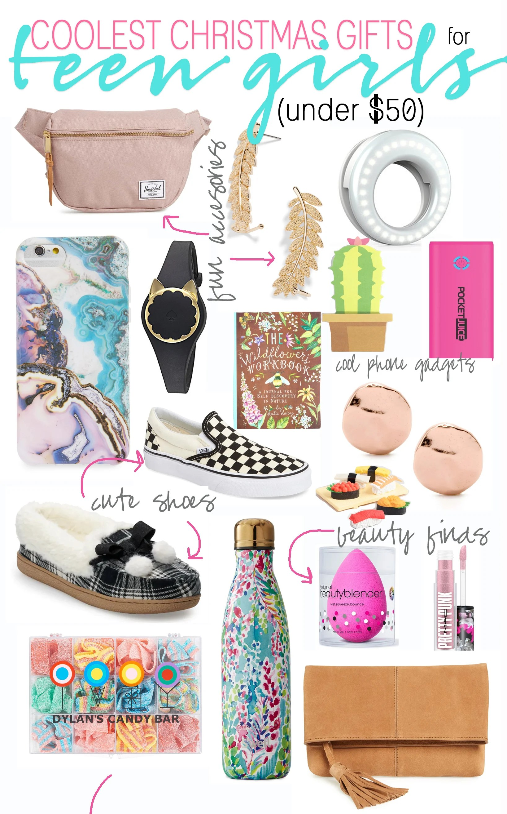 Teenage / Tween Girl Christmas List: Gift Ideas for Teen & Tween Girls