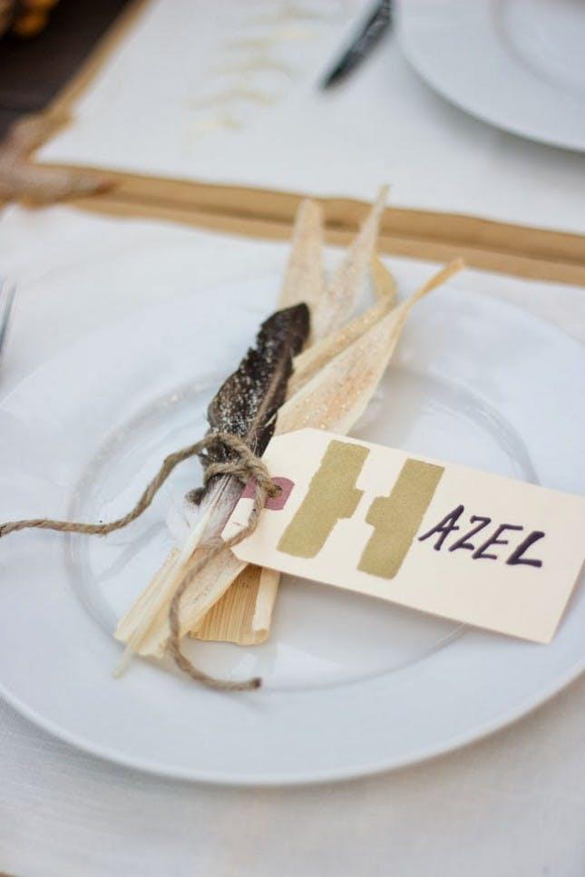 DIY Thanksgiving Place Card Ideas